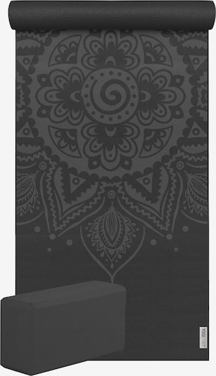 YOGISTAR.COM Matte (Yogamatte + 1 Yogablock) in schwarz, Produktansicht