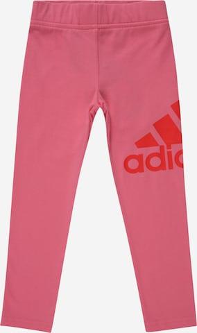 ADIDAS PERFORMANCE Sportbyxa i rosa