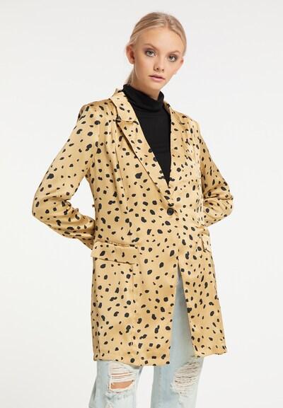 myMo NOW Blazer in goldgelb / schwarz, Modelansicht