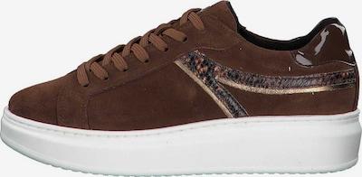 TAMARIS Sneaker in braun: Frontalansicht