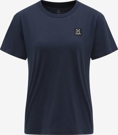 Haglöfs Functioneel shirt 'Camp' in de kleur Donkerblauw / Zwart / Wit, Productweergave
