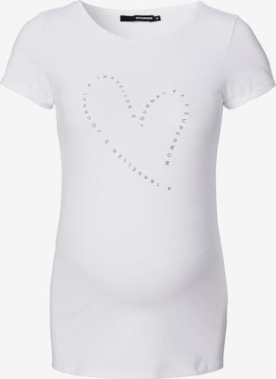 Supermom T-shirt en noir / blanc, Vue avec produit