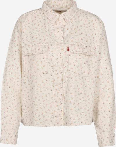 LEVI'S Bluse 'OLSEN UTILITY' in creme / rosa, Produktansicht