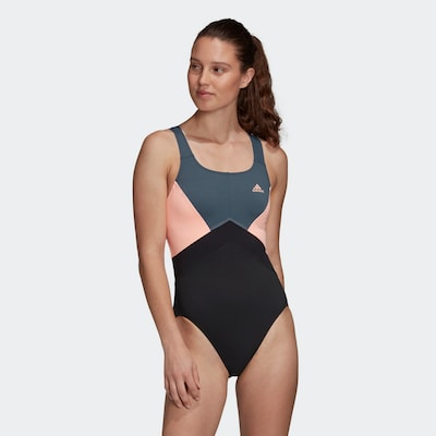 ADIDAS PERFORMANCE Badeanzug in schwarz, Modelansicht