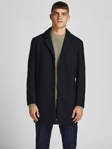 Manteau mi-saison 'JJMARCO' JACK & JONES en bleu
