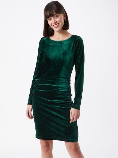 Kaffe Kleid 'Kelly' in dunkelgrün, Modelansicht