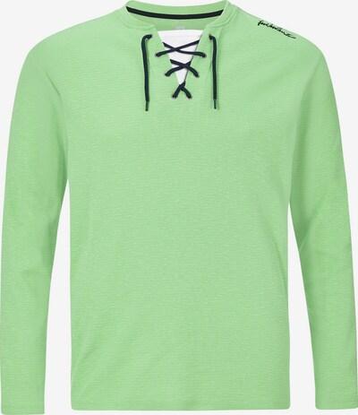 Jan Vanderstorm Sweat-shirt 'Tiard' en bleu foncé / vert clair / blanc, Vue avec produit