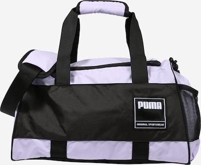 PUMA Športová taška - levanduľová / čierna / biela, Produkt