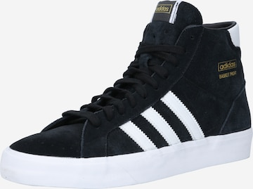 ADIDAS ORIGINALS High-Top Sneakers in Black