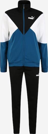 PUMA Sport-Anzug in himmelblau / schwarz / weiß, Produktansicht