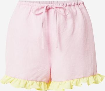 Dora Larsen Панталон пижама 'EMELIE' в розово