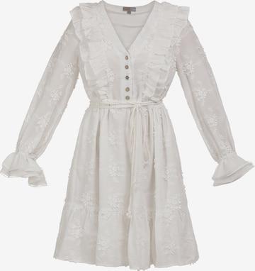 myMo NOW Καλοκαιρινό φόρεμα σε λευκό