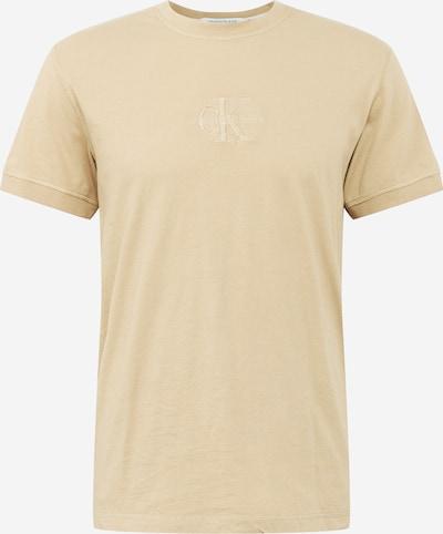 Calvin Klein Jeans T-Shirt in creme, Produktansicht