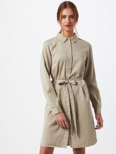 VILA Košilové šaty 'Vibista' - béžová, Model/ka