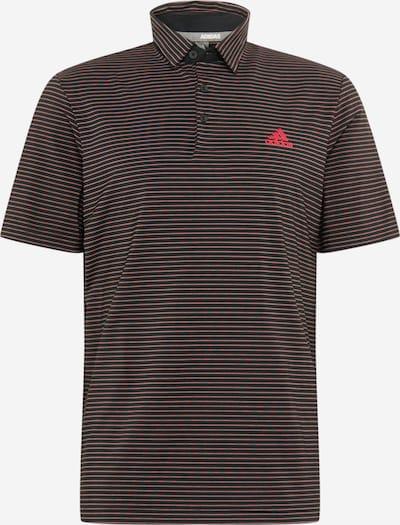 adidas Golf Sport-Shirt in opal / lachs / schwarz, Produktansicht