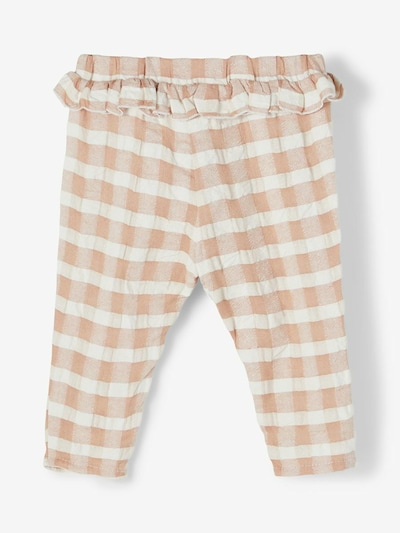 Lil ' Atelier Kids Trousers 'Inga' in Nude / White, Item view