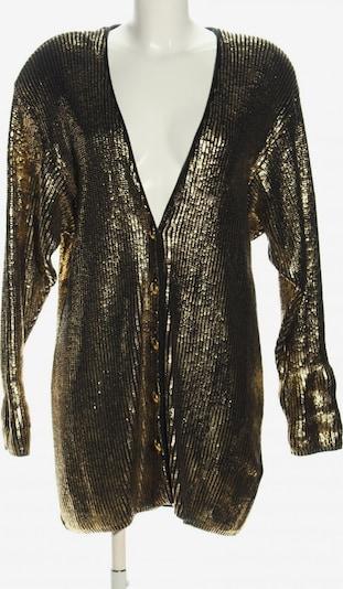JOBIS Strickjacke in L in gold / schwarz, Produktansicht