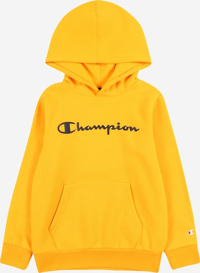 Champion Authentic Athletic Apparel Sweatshirt i gul / svart, Produktvy