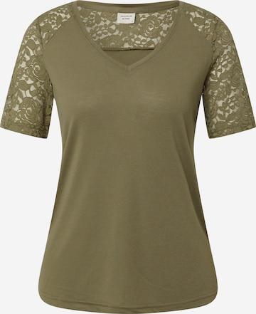 JDY T-shirt 'TINNE' i grön