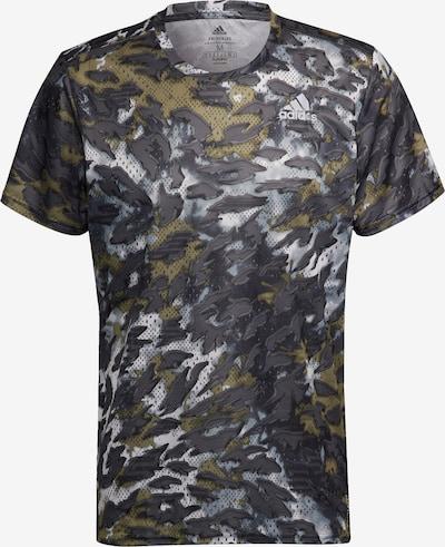 ADIDAS PERFORMANCE Functioneel shirt 'Fast Graphic Primeblue' in de kleur Grijs / Gemengde kleuren, Productweergave