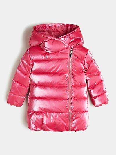 GUESS KIDS Guess Kids BESCHICHTETE STEPPJACKE in pink, Produktansicht