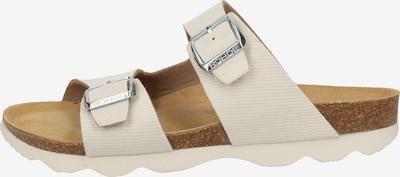 ROHDE Pantolette in beige / silber, Produktansicht