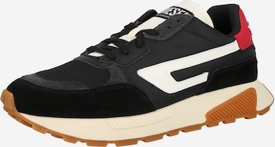 DIESEL Sneaker 'TYCHE' in rot / schwarz / weiß, Produktansicht