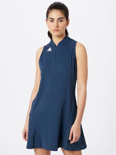 adidas Golf Sportkleid in navy / weiß: Frontalansicht
