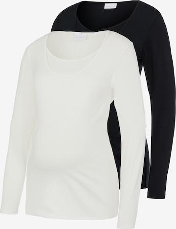 MAMALICIOUS Μπλουζάκι 'Lea' σε μαύρο
