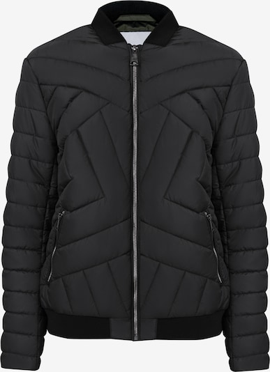 Finn Flare Tussenjas in de kleur Zwart, Productweergave