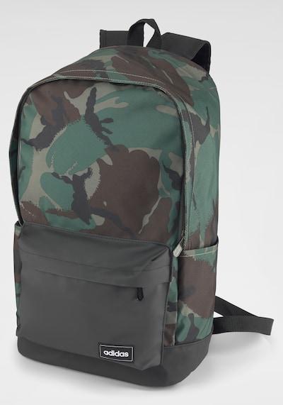 ADIDAS PERFORMANCE Rucksack in braun / grün / khaki / schwarz, Produktansicht