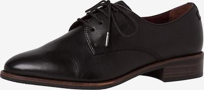 TAMARIS Zapatos con cordón en negro, Vista del producto