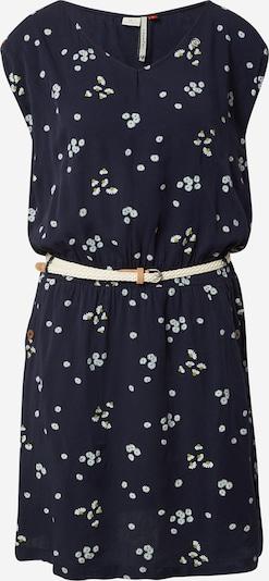 Ragwear Kleid 'CAROLINE' in navy / schilf / weiß, Produktansicht