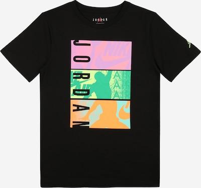 Jordan Sporta krekls, krāsa - dzeltens / zaļš / lillā / melns, Preces skats