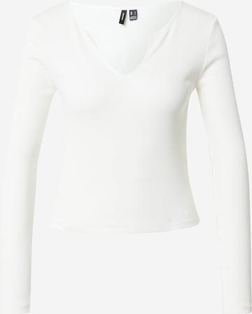 T-shirt 'NEWAVA' VERO MODA en blanc