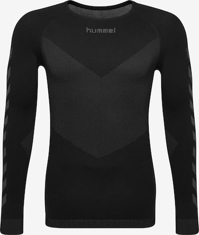 Hummel Shirt in grau / schwarz, Produktansicht