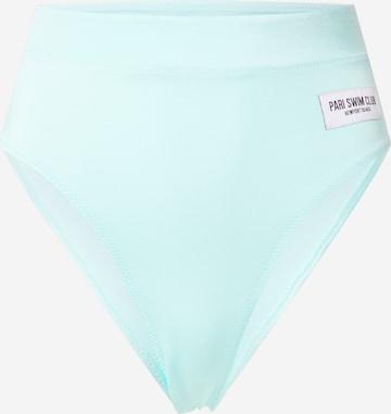 PARI Bikinibroek 'SWIM CLUB' in Blauw