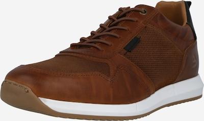 BULLBOXER Sneakers laag in de kleur Karamel / Zwart, Productweergave