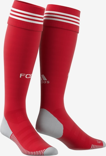 ADIDAS PERFORMANCE Stutzen in rot / weiß, Produktansicht