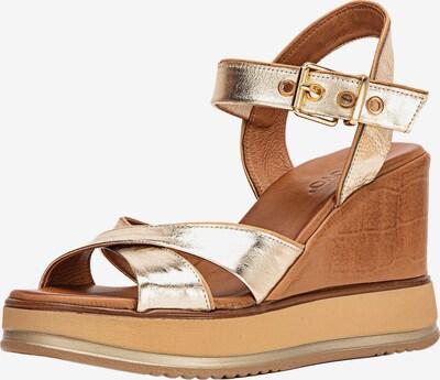INUOVO Sandales en or, Vue avec produit