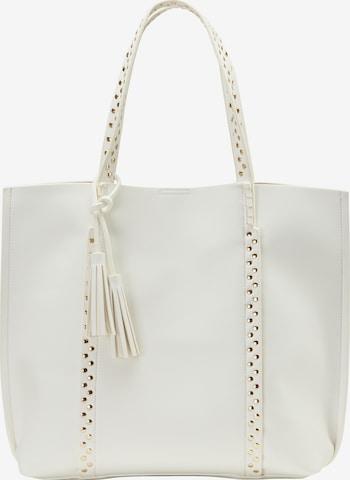 Usha Shopper in White