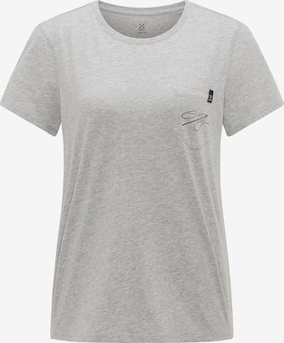 Haglöfs Functioneel shirt 'Mirth' in de kleur Grijs gemêleerd / Zwart, Productweergave