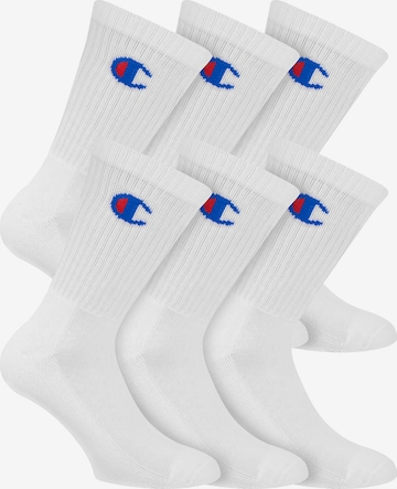 Champion Authentic Athletic Apparel Athletic Socks ' Legacy ' in White