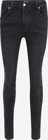 Jeans 'Messi' SikSilk pe negru denim, Vizualizare produs