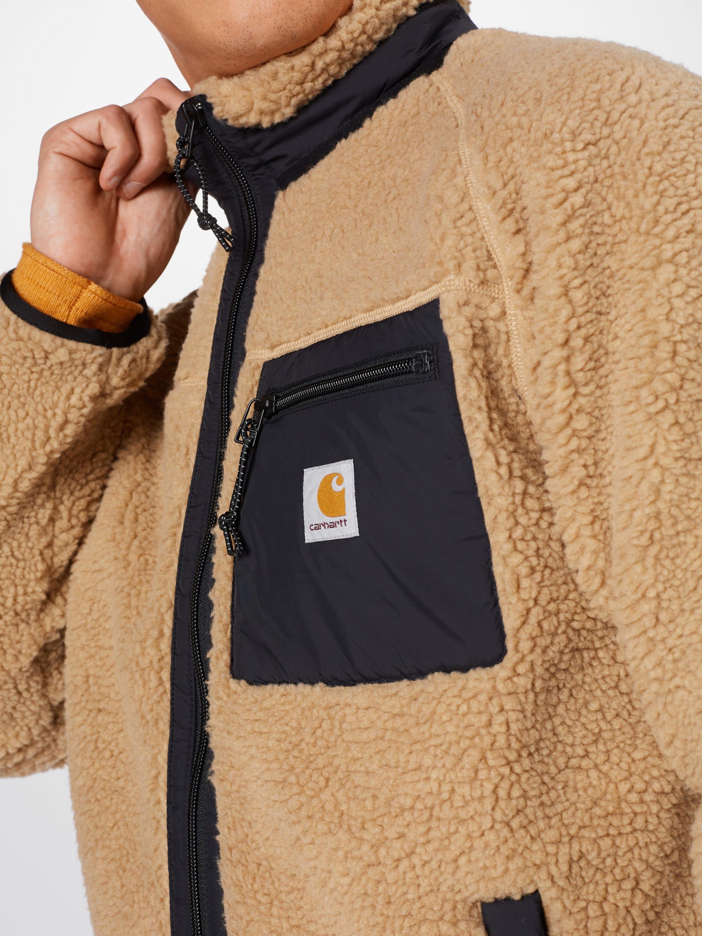 Carhartt WIP Övergångsjacka 'Prentis Liner' i brun