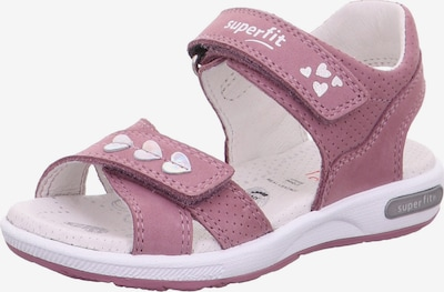 SUPERFIT Sandal 'Emily' in Mauve / White, Item view