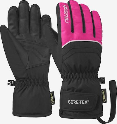 REUSCH Fingerhandschuhe 'Tommy GORE-TEX Velcro Junior' in pink / schwarz, Produktansicht