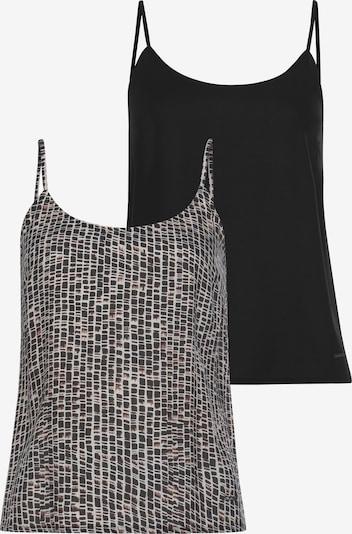 LAURA SCOTT Top in braun / schwarz / weiß, Produktansicht