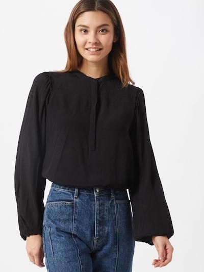 Camicia da donna 'Lilli Miela' BRUUNS BAZAAR di colore nero: Vista frontale