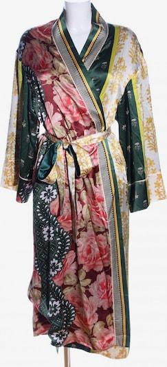 Oscar de la Renta Kimono in S in pastellgelb / grün / pink, Produktansicht